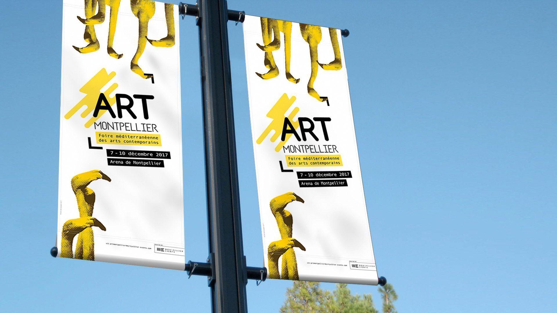 Quand nos flamants jaunes s duisent montpellier events for Salon art contemporain montpellier