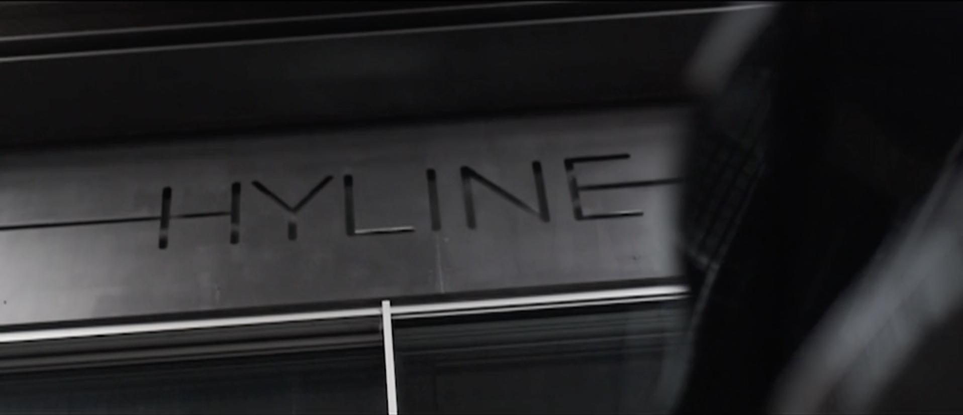 hyline com une exception