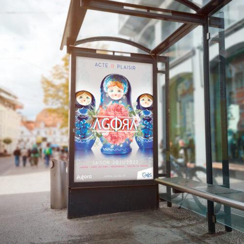 Agora-affiche-abri-bus
